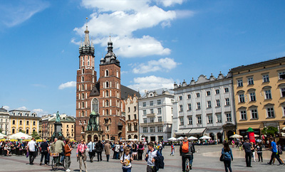 Tourist attractions in Poland - Cracow