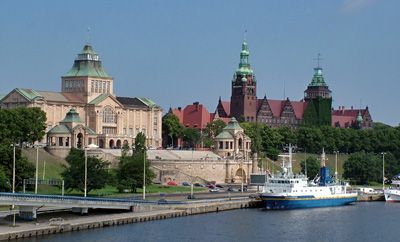 Tourist attractions in Poland - Szczecin