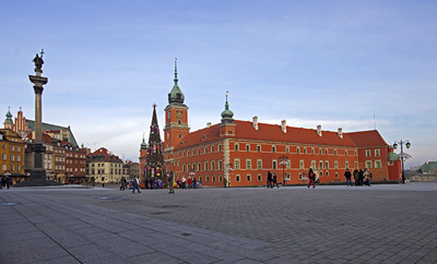 Tourist attractions in Poland - Warsaw